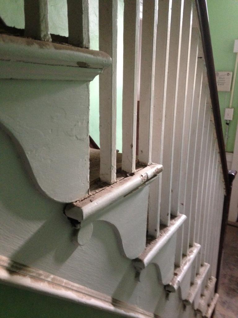 stair bracket detail