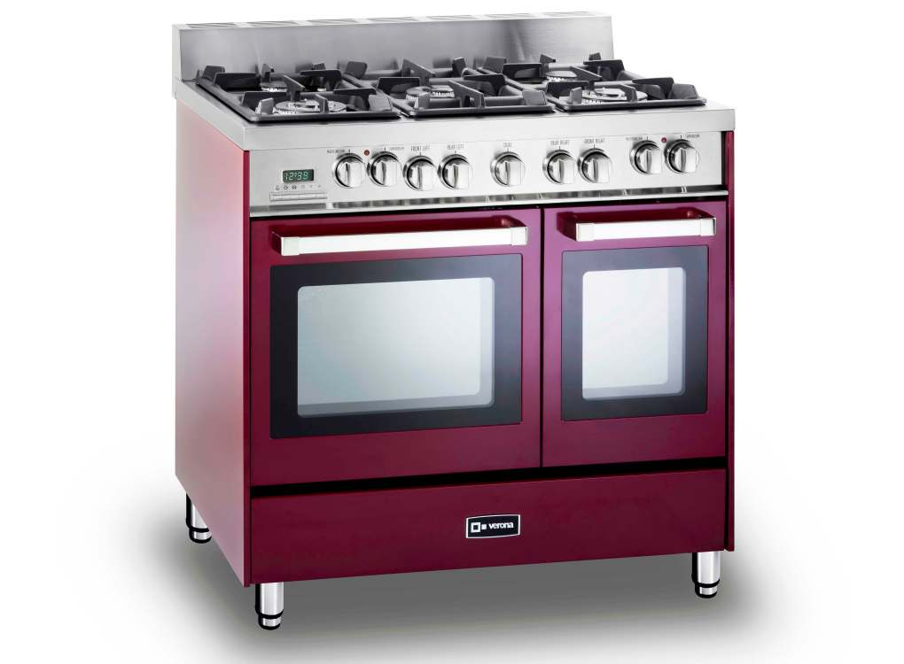verona red gas range