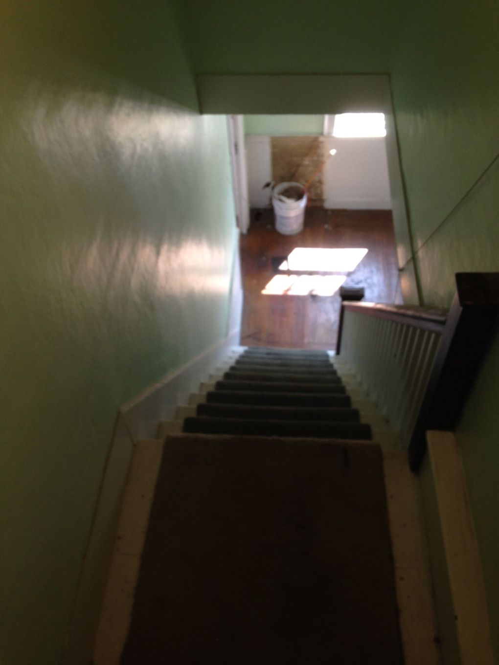 stair from attic