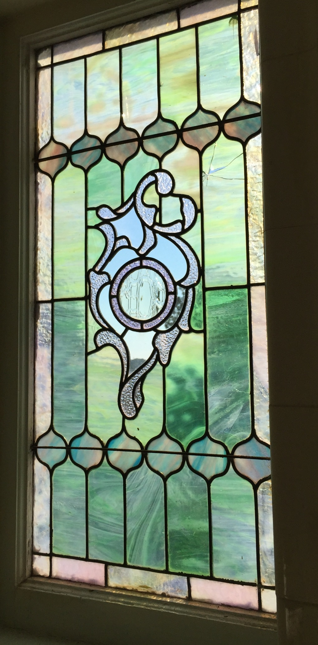 bath stained glass