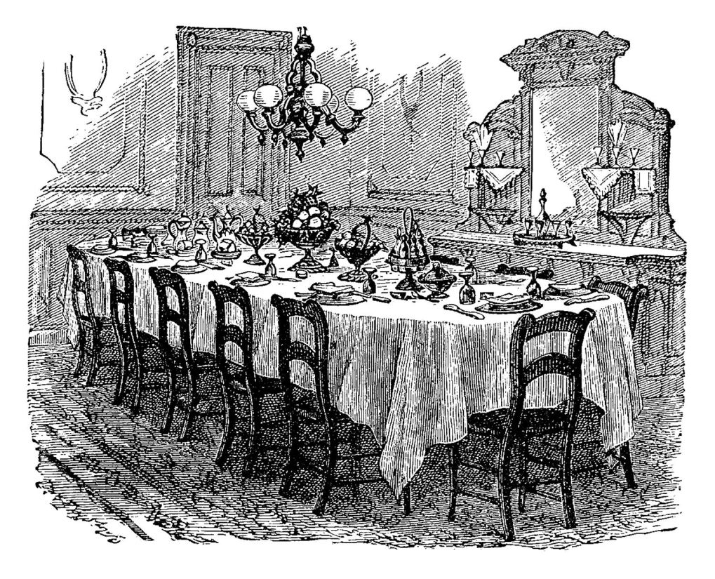 Victorian dining